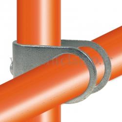 Croix décalé type U - Raccord tubulaire FitClamp