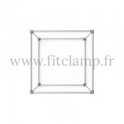 Cube d'affichage sur pied