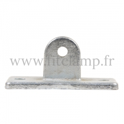 Tube clamp fitting 169M. Swivel base section for tubular structures. Easy to install