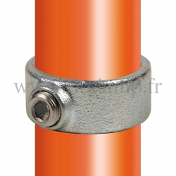 Tube clamp fitting 179: Locking collar for tubular structures. Easy to install