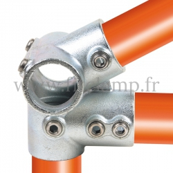 Tube clamp fitting 185: Eves fitting clamp for tubular structures. Easy to install
