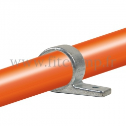 Tube clamp fitting 199: Single fixing bracket for tubular structures. Suitable for joining 1 tube