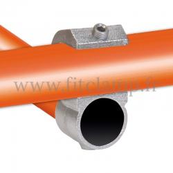 Croix décalé ouvert - Raccord tubulaire FitClamp
