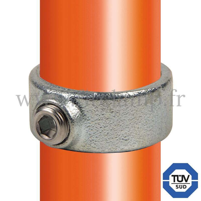 Conector tubular 179: Abrazadera para montaje tubular. Se montan con una simple llave Allen