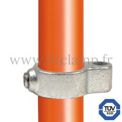 Raccord tubulaire 138 pour un assemblage et structure tubulaire. Avec double galvanisation