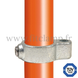 Tube clamp fitting 138 for tubular structures: Gate eye. FitClamp