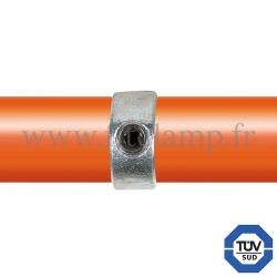 Raccord tubulaire 150 pour un assemblage et structure tubulaire. Avec double galvanisation