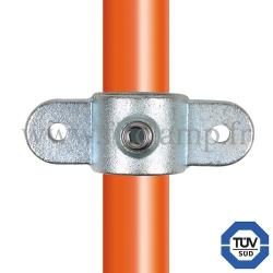 Raccord tubulaire 167M pour un assemblage et structure tubulaire. Avec double galvanisation