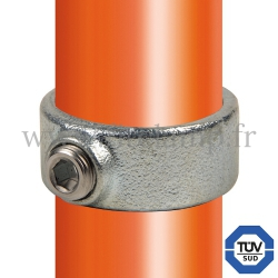 Tube clamp fitting 179: Locking collar for tubular structures. FitClamp