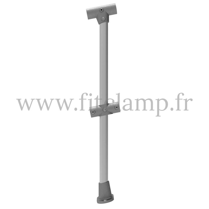 Poteau barrière inclinée 0-11° – Extension - FitClamp