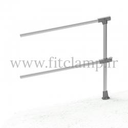 Barrière C42 inclinée 0-11° - Extension - FitClamp
