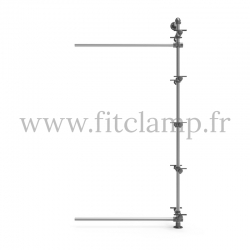Etagère 5 niveaux simple - Extension - FitClamp