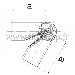DDA - coude orientable
