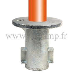 Tube clamp fitting 134: Ground socket for tubular structures. Easy to install
