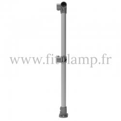 Poteau de barrière droite - Angle - FitClamp